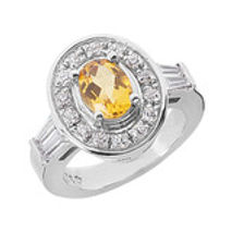 citrine, ring, semi precious stone, yellow, diamonds, stone jewelry,
