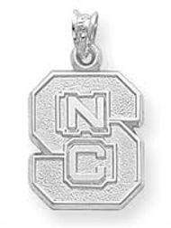 NCSU charm, NCSU, NC State, NC State charm, wolfpack, licensed, collegiate, college, silver, gold