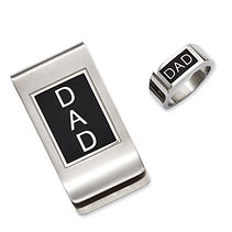 dad jewelry, dad ring, dad money clip, money clips, jewelry for dad, mens rings,