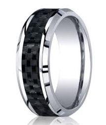 cobalt wedding bands, cobalt, wedding bands, cobalt bands, alternative metals, alternative metal wedding bands, mens cobalt bands, weddings bands with black,