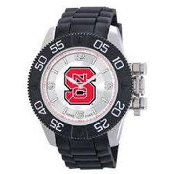NCSU, watch, NCSU watch, rubber, licensed, mens, collegiate, college, NC State, Wolfpack