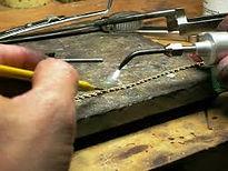 chain repair, solder, advanced chain repair, jump ring soldering, clasp repair, jewelry repair