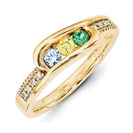 mothers ring, family jewelry, birthstones,