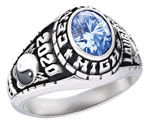 Class Ring, Gold Lance, Ladies class ring, Class Rings,