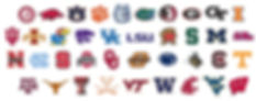 collegiate, college logos, collegiate jewelry, school spirit, licensed