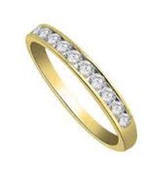 channel set diamond band, ladies channel set diamond band, diamond wedding band, 1 carat diamond wedding band, gold diamond bands,