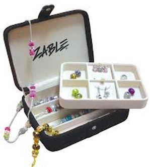 zable, beads, jewelry box, bead storage, bracelets, interchangeable beads