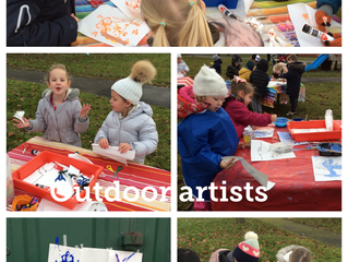 Outdoor Learning Day in Reception