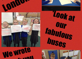 The Naughty Bus has come to Reception