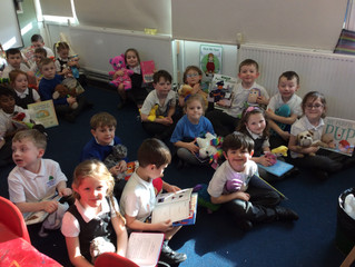 World book day in Willow