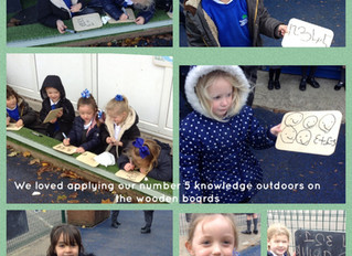 Exciting Writing in Reception!
