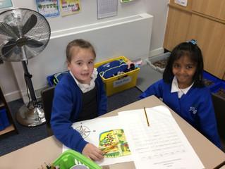 Class Beech are exploring maps