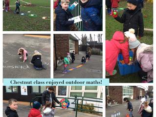 Outdoor maths!