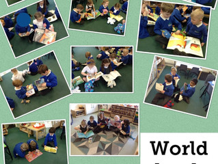 World Book Day is here again in Reception!
