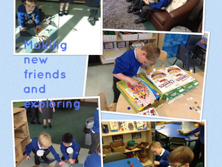 Our First Weeks In Reception!
