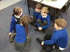 How do you brush your teeth? Instruction writing in Class Beech.