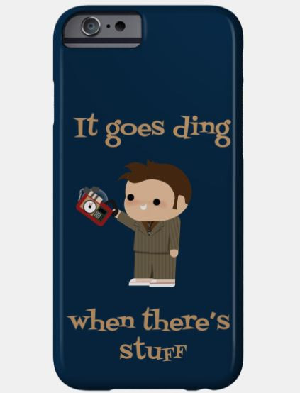 It Goes Ding Phone Cover
