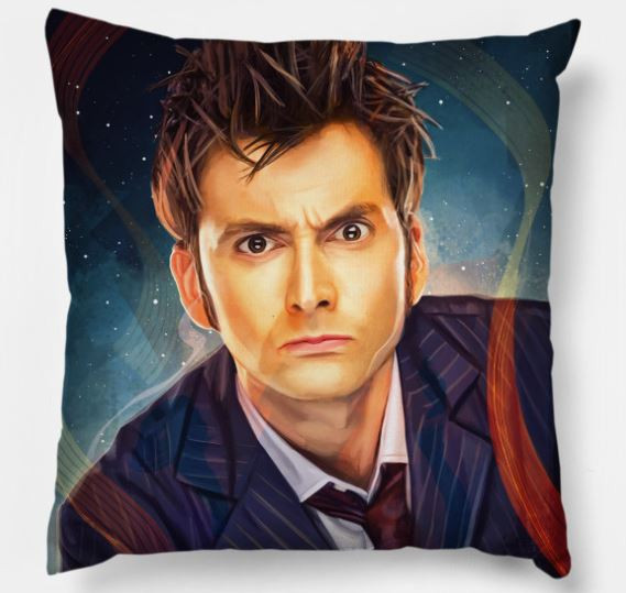 He's Like Fire and Ice and Rage Pillow