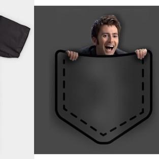 David Tennant In Your Pocket Funny T-Shirt