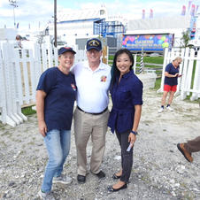 Deputy Sec Finn, Dawn & SSGT Andrews