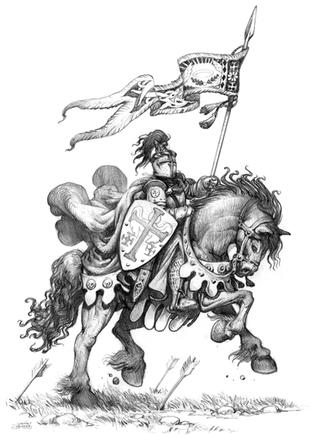 Human Cavalier