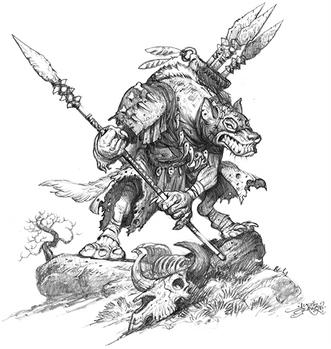 Gnoll Spear Thrower