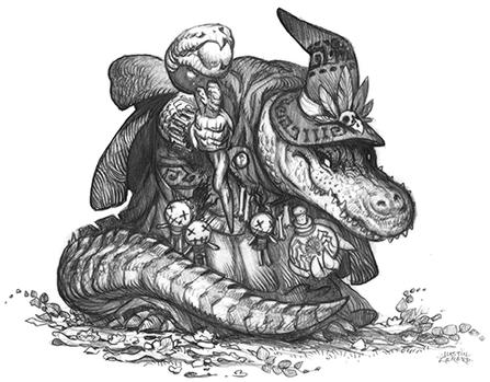 Gatorkin Caster