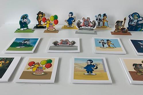 Les 8 figurines de l'été