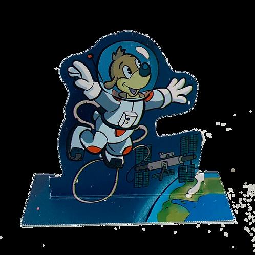 Figurine Pif astronaute
