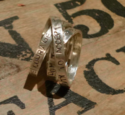 custom sterling ring karen calandra