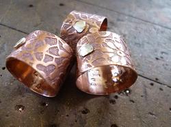 copper custom rings karen calandra