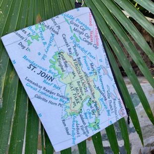 STJ MAP CLUTCH   22