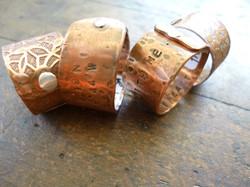 funky rings handmade karen calandra