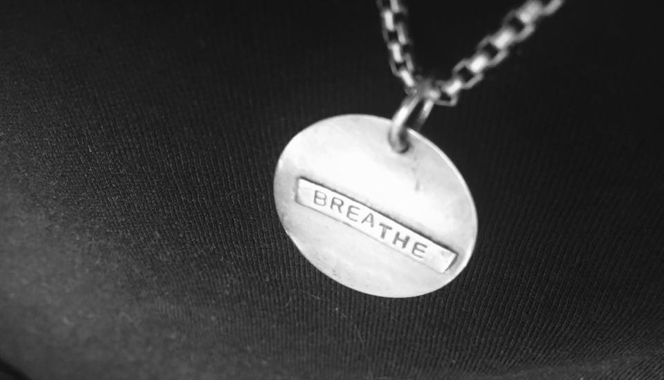 quote necklace karen calandra