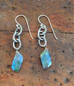 metalsmith earrings karen calandra