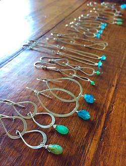 handmade earrings karen calandra