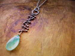 metalsmith necklace karen calandra