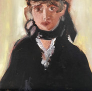 """""""WOMAN IN HAT"""" BY MANET"""
