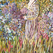 """""""LADY IN THE GARDEN"""" BY FRIESEKE"""