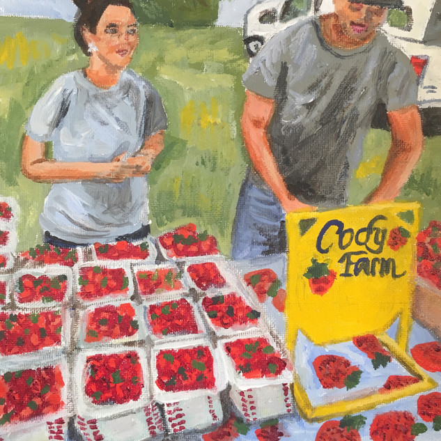 """CODY FARM STRAWBERRY SALE"""