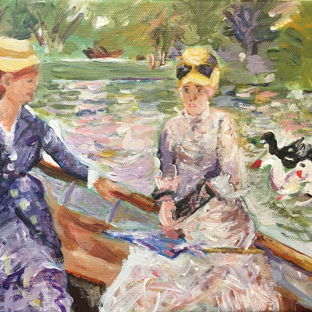 """""""SUMMER'S DAY"""" BY MORISOT"""