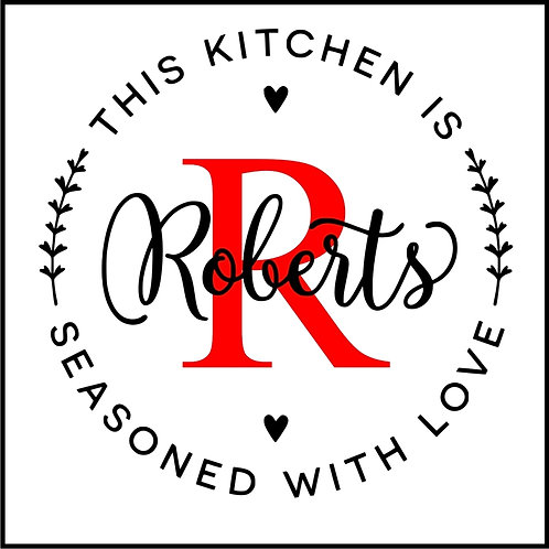 THIS KITCHEN SEASONED WITH LOVE