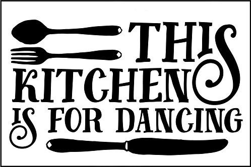 THIS KITCHEN IS MADE FOR DANCING