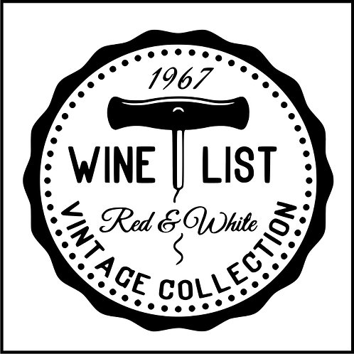 WINE LIST BADGE