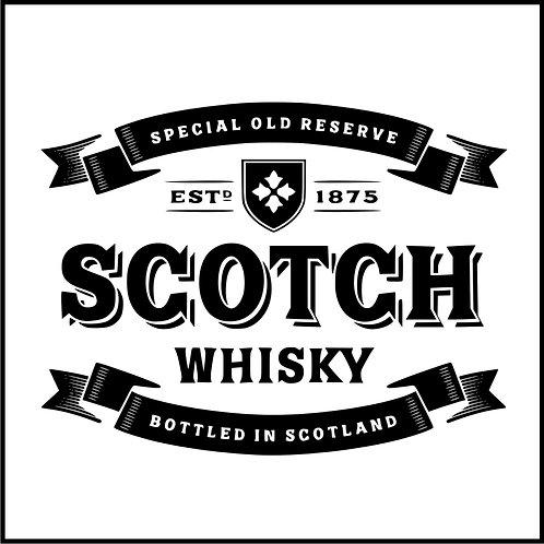 SCOTCH BADGE