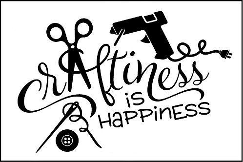 HAPPINESS IS CRAFTINESS