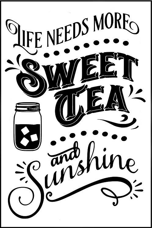LIEF NEEDS MORE SWEET TEA AND SUNSHINE