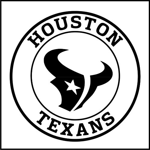 HOUSTON TEXANS BADGE
