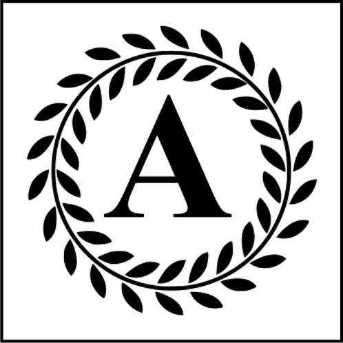 LAUREL CIRCLE MONOGRAM