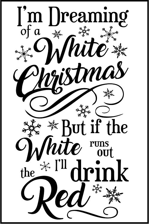 IF THE WHITE RUNS OUT